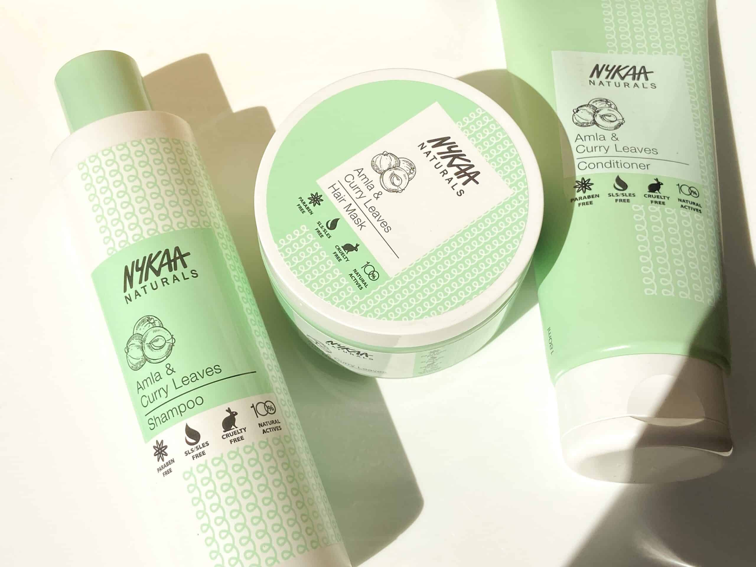 Nykaa Naturals Amla and Curry Leaves Haircare Review scaled