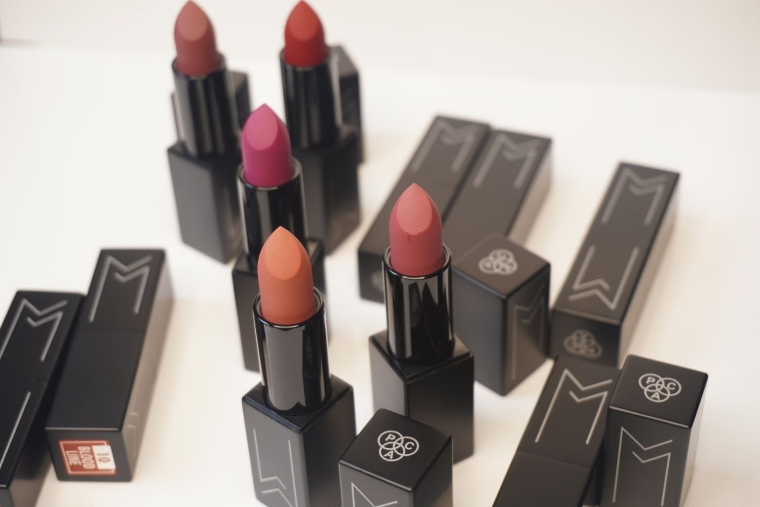 pac matte mischief lipstick review and swatches